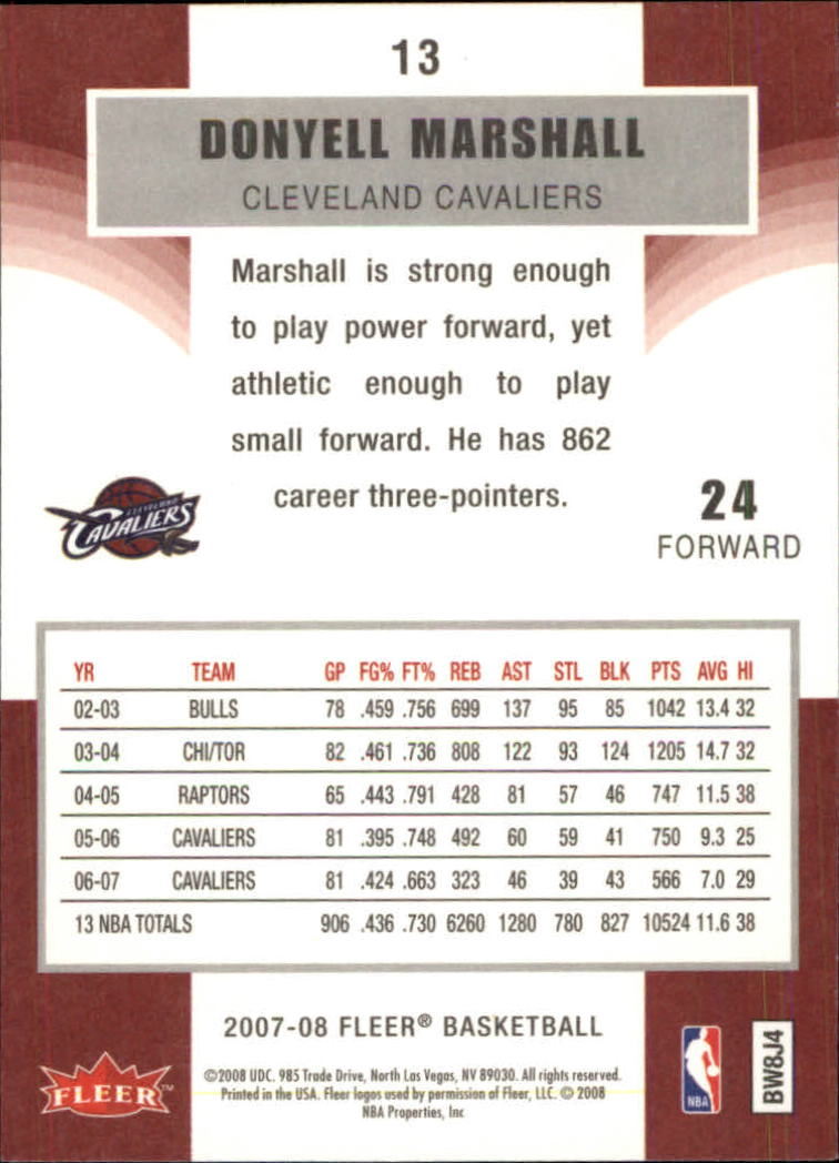 2007-08-Fleer-Basketball-Cards-Base-Set-Pick-From-List thumbnail 23
