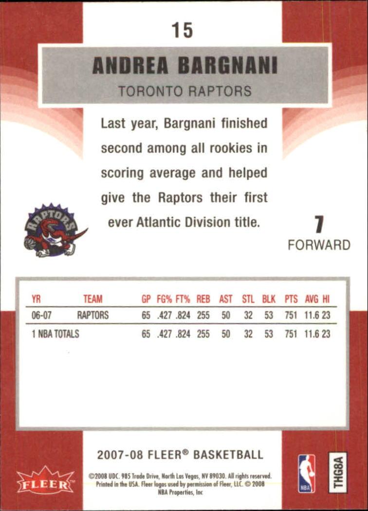 2007-08-Fleer-Basketball-Cards-Base-Set-Pick-From-List thumbnail 27
