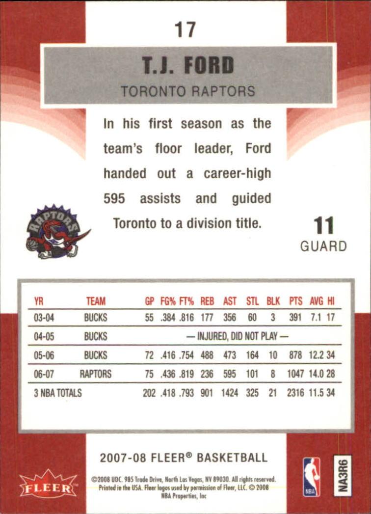 2007-08-Fleer-Basketball-Cards-Base-Set-Pick-From-List thumbnail 31