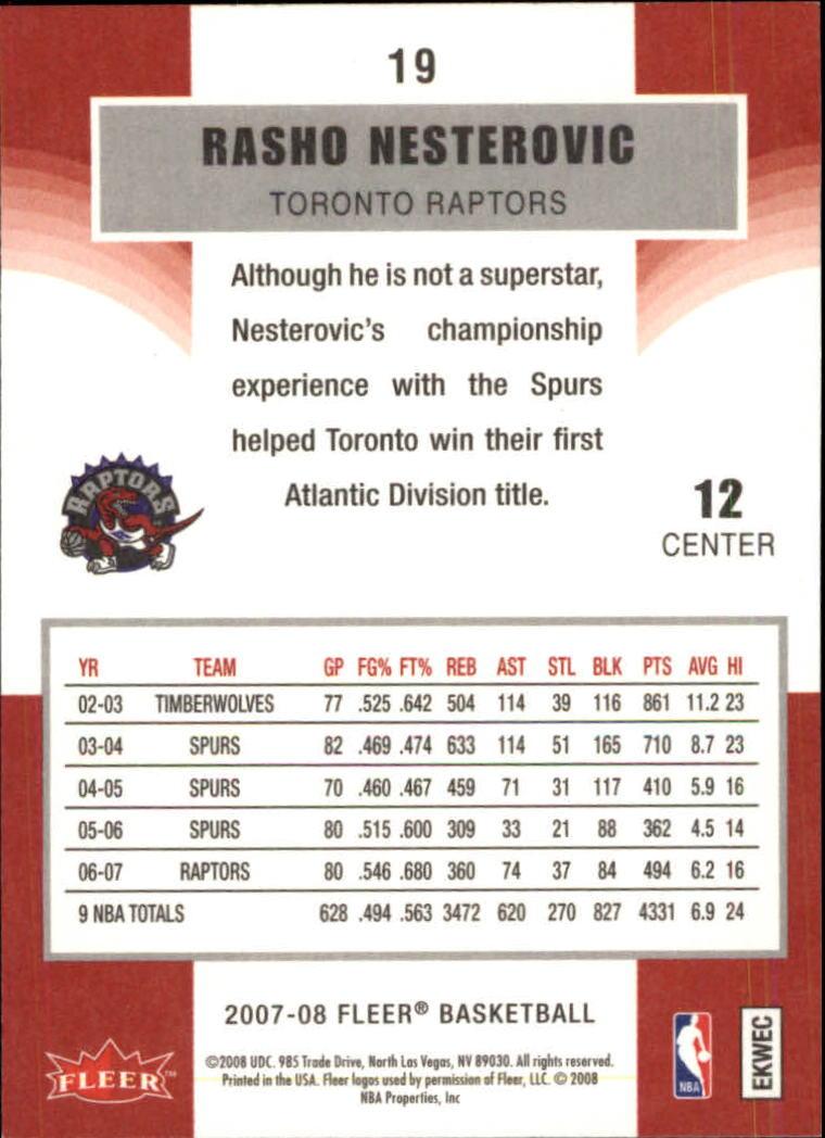 2007-08-Fleer-Basketball-Cards-Base-Set-Pick-From-List thumbnail 35