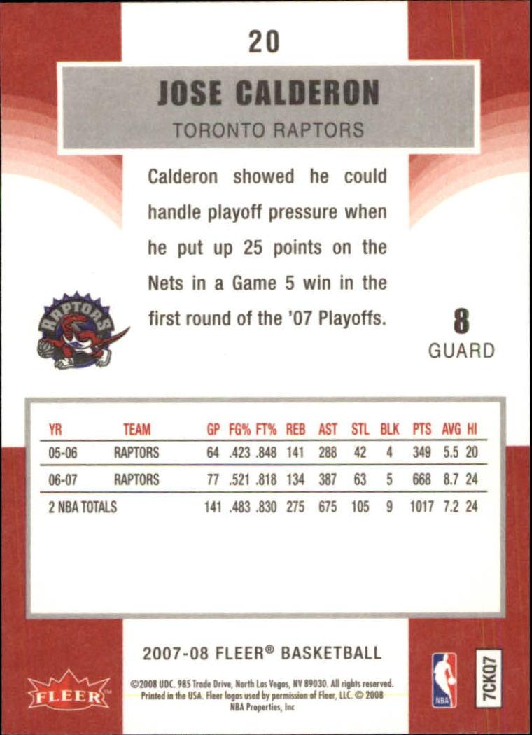 2007-08-Fleer-Basketball-Cards-Base-Set-Pick-From-List thumbnail 37