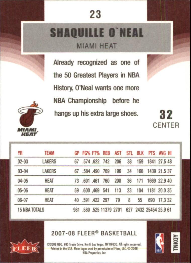 2007-08-Fleer-Basketball-Cards-Base-Set-Pick-From-List thumbnail 43