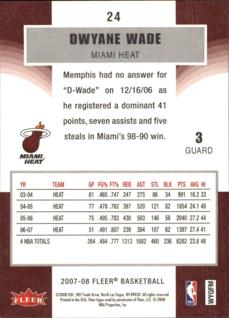2007-08-Fleer-Basketball-Cards-Base-Set-Pick-From-List thumbnail 45