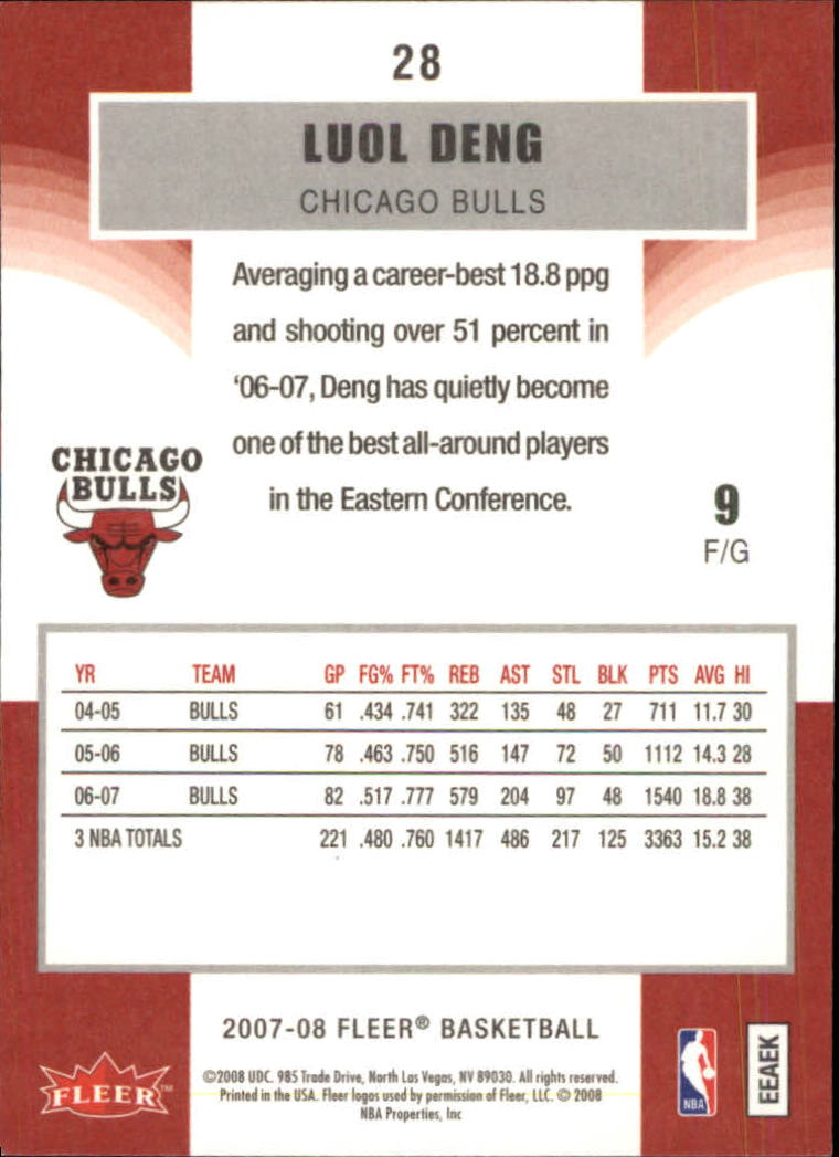 2007-08-Fleer-Basketball-Cards-Base-Set-Pick-From-List thumbnail 53