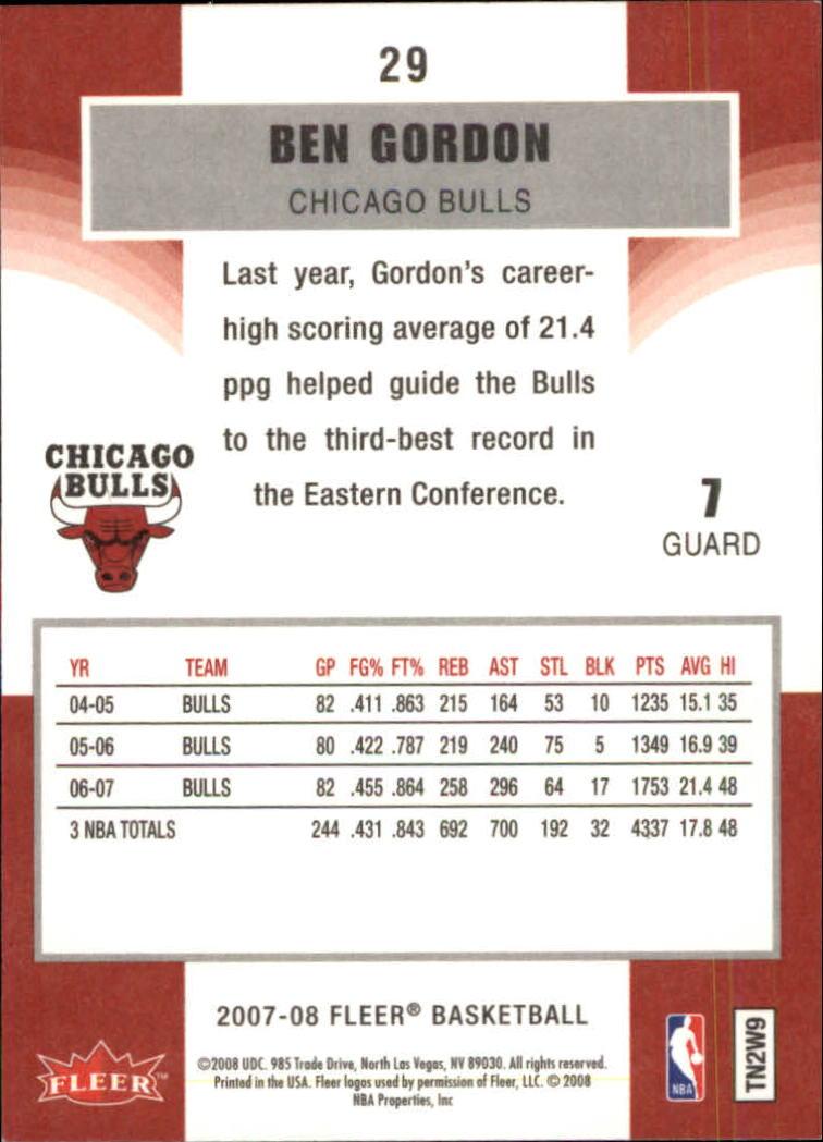 2007-08-Fleer-Basketball-Cards-Base-Set-Pick-From-List thumbnail 55