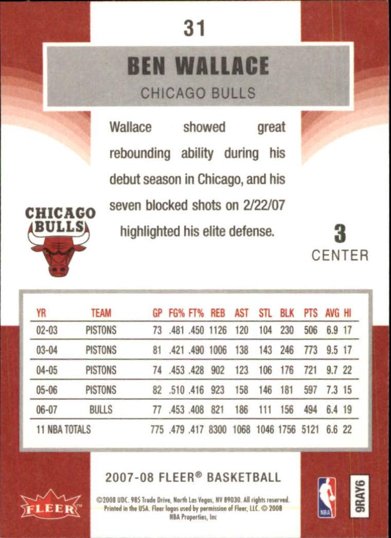 2007-08-Fleer-Basketball-Cards-Base-Set-Pick-From-List thumbnail 59