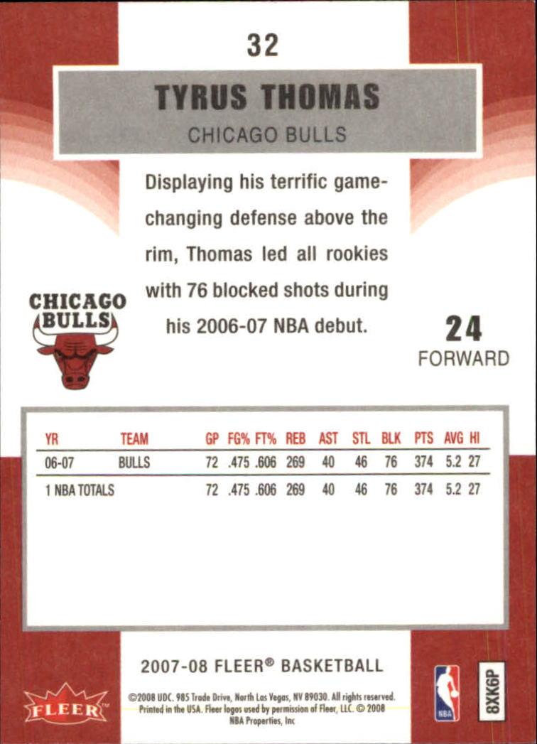 2007-08-Fleer-Basketball-Cards-Base-Set-Pick-From-List thumbnail 61