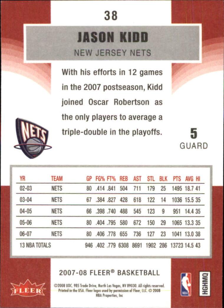 2007-08-Fleer-Basketball-Cards-Base-Set-Pick-From-List thumbnail 73