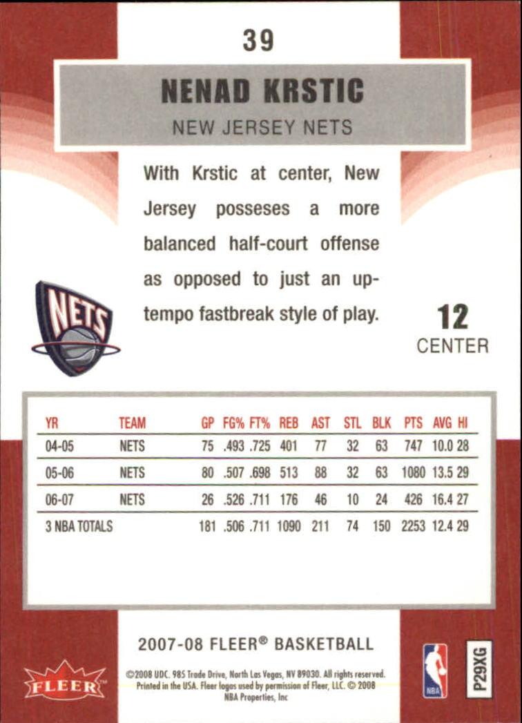 2007-08-Fleer-Basketball-Cards-Base-Set-Pick-From-List thumbnail 75