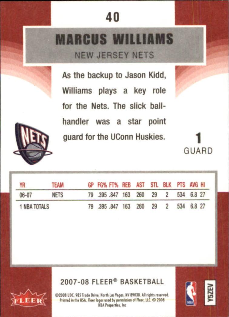 2007-08-Fleer-Basketball-Cards-Base-Set-Pick-From-List thumbnail 77