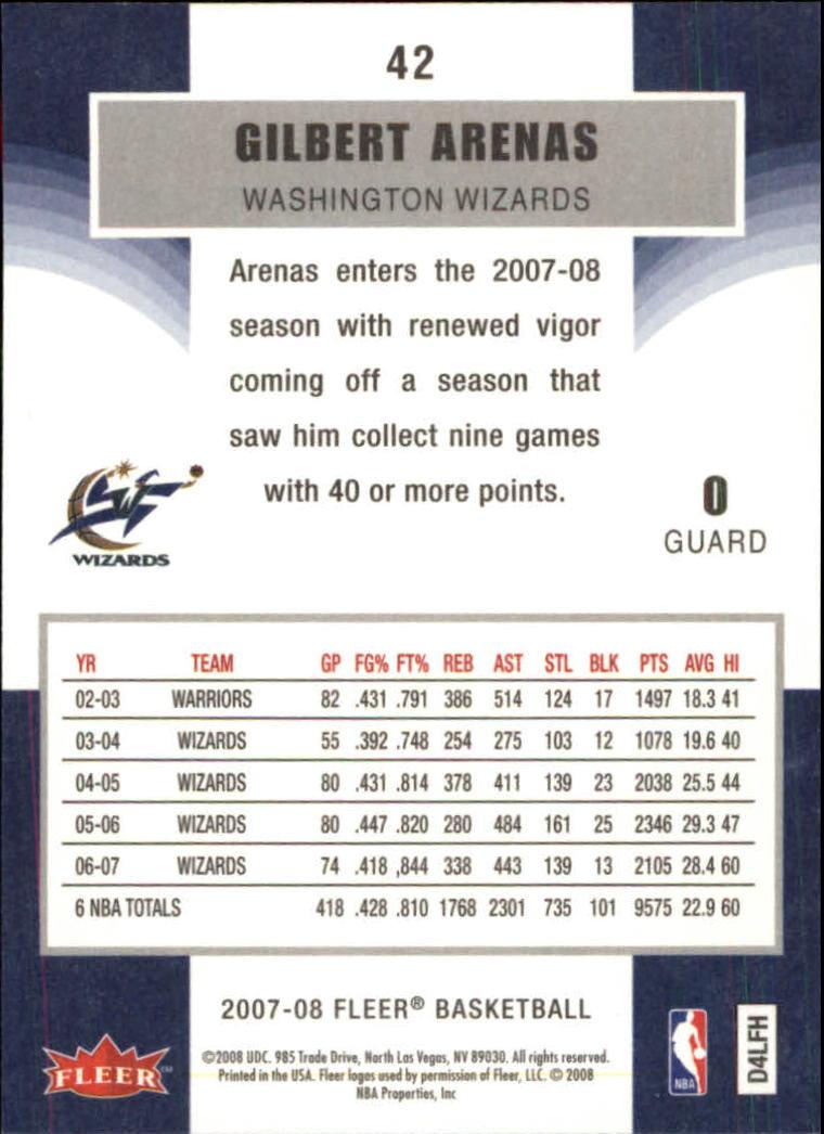 2007-08-Fleer-Basketball-Cards-Base-Set-Pick-From-List thumbnail 81