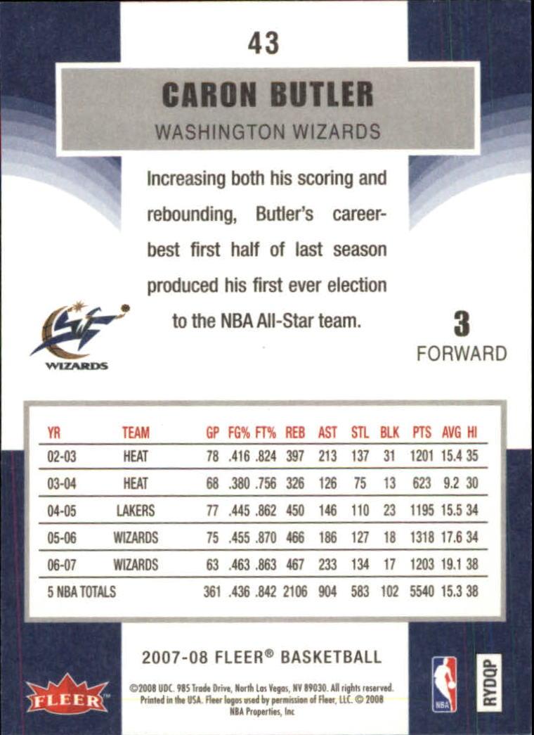 2007-08-Fleer-Basketball-Cards-Base-Set-Pick-From-List thumbnail 83