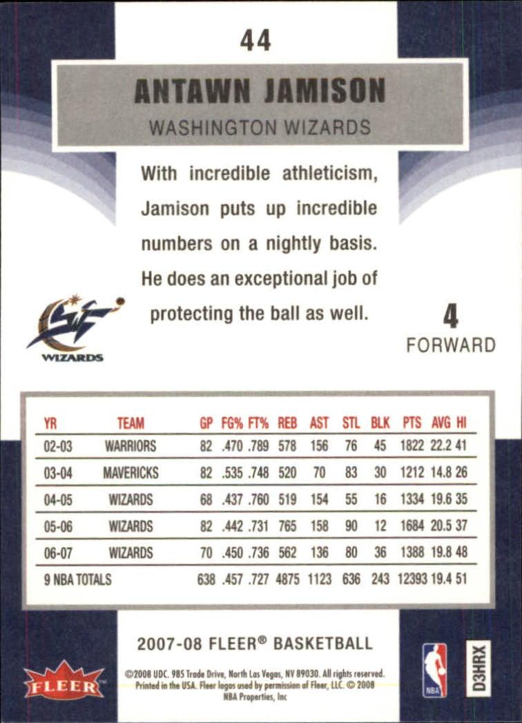 2007-08-Fleer-Basketball-Cards-Base-Set-Pick-From-List thumbnail 85