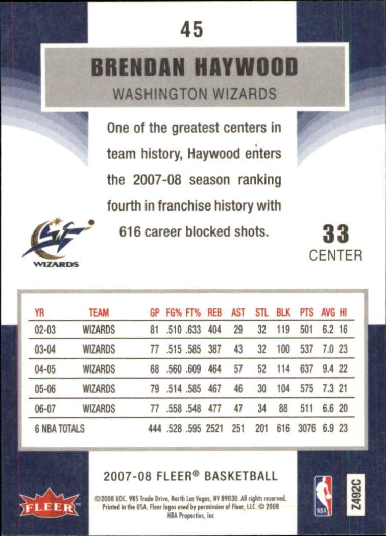 2007-08-Fleer-Basketball-Cards-Base-Set-Pick-From-List thumbnail 87