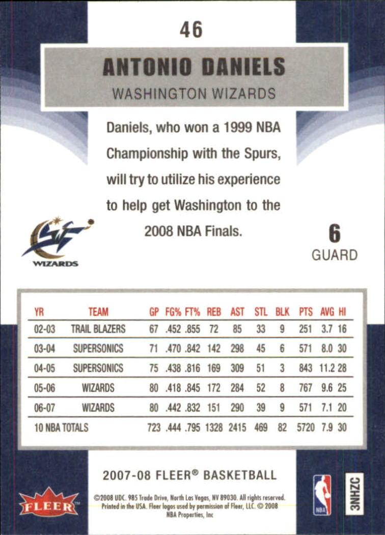 2007-08-Fleer-Basketball-Cards-Base-Set-Pick-From-List thumbnail 89