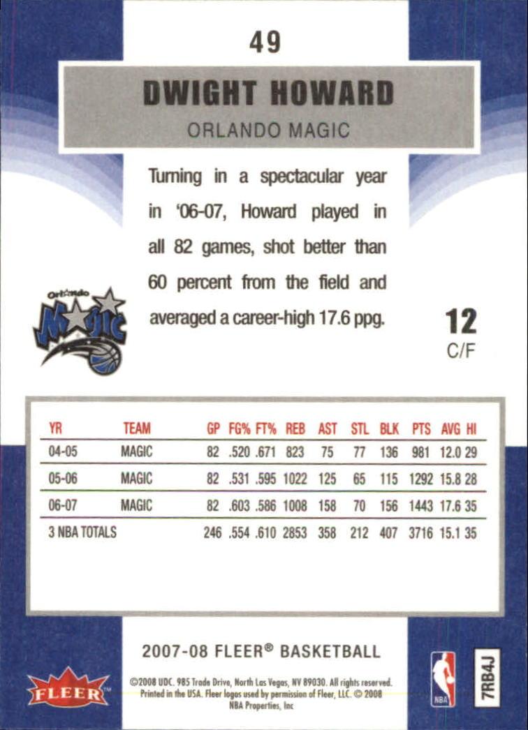 2007-08-Fleer-Basketball-Cards-Base-Set-Pick-From-List thumbnail 95