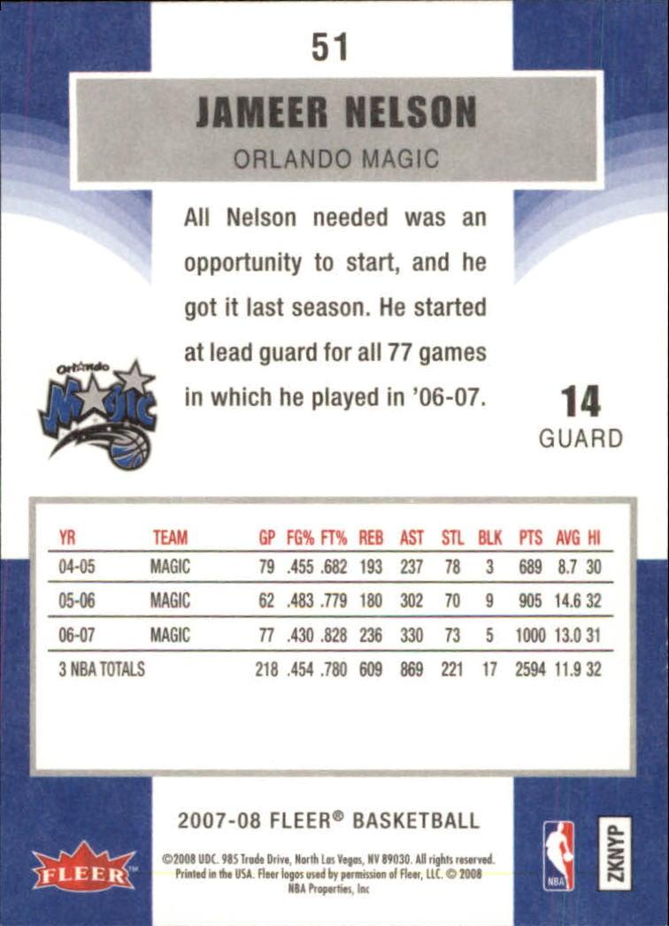 2007-08-Fleer-Basketball-Cards-Base-Set-Pick-From-List thumbnail 99