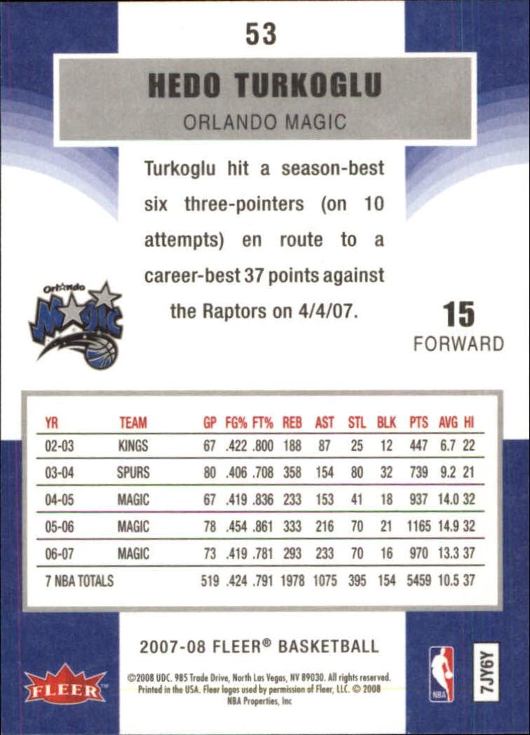 2007-08-Fleer-Basketball-Cards-Base-Set-Pick-From-List thumbnail 103