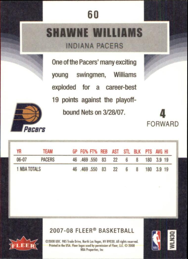 2007-08-Fleer-Basketball-Cards-Base-Set-Pick-From-List thumbnail 115