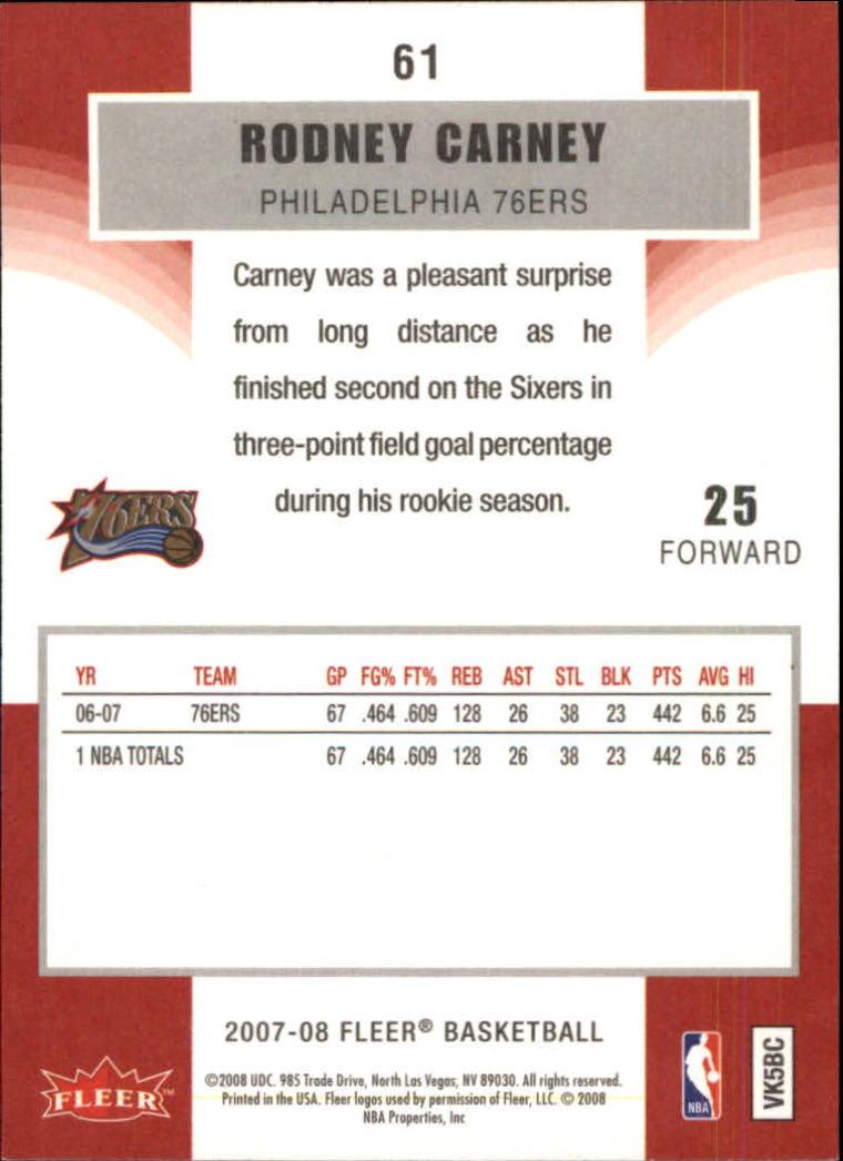 2007-08-Fleer-Basketball-Cards-Base-Set-Pick-From-List thumbnail 117