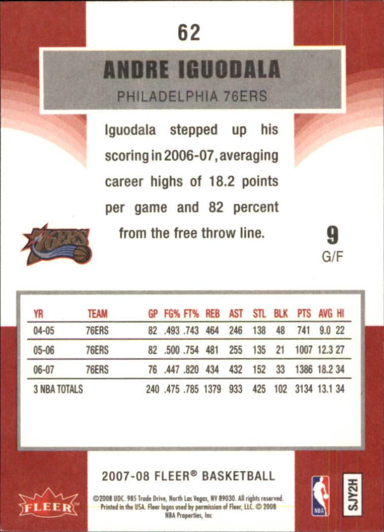 2007-08-Fleer-Basketball-Cards-Base-Set-Pick-From-List thumbnail 119