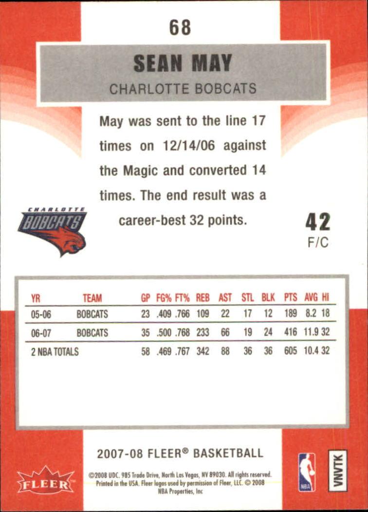 2007-08-Fleer-Basketball-Cards-Base-Set-Pick-From-List thumbnail 131