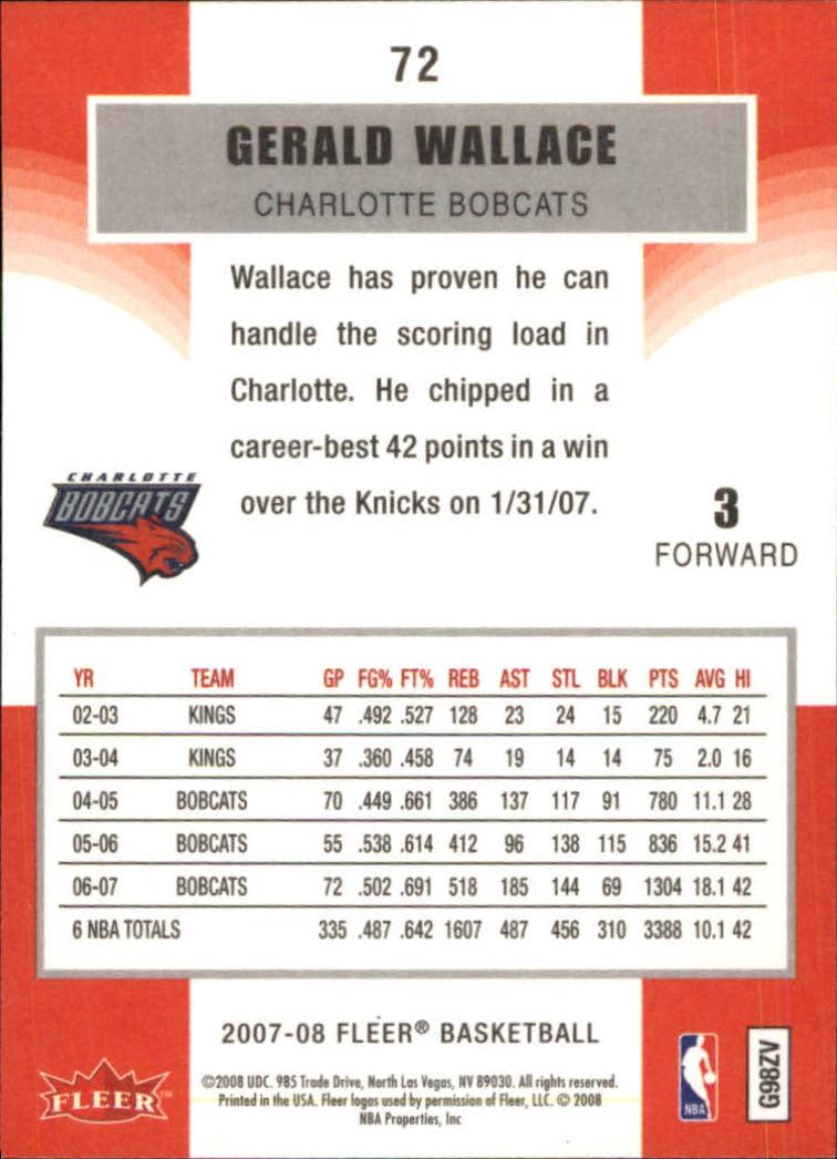 2007-08-Fleer-Basketball-Cards-Base-Set-Pick-From-List thumbnail 139