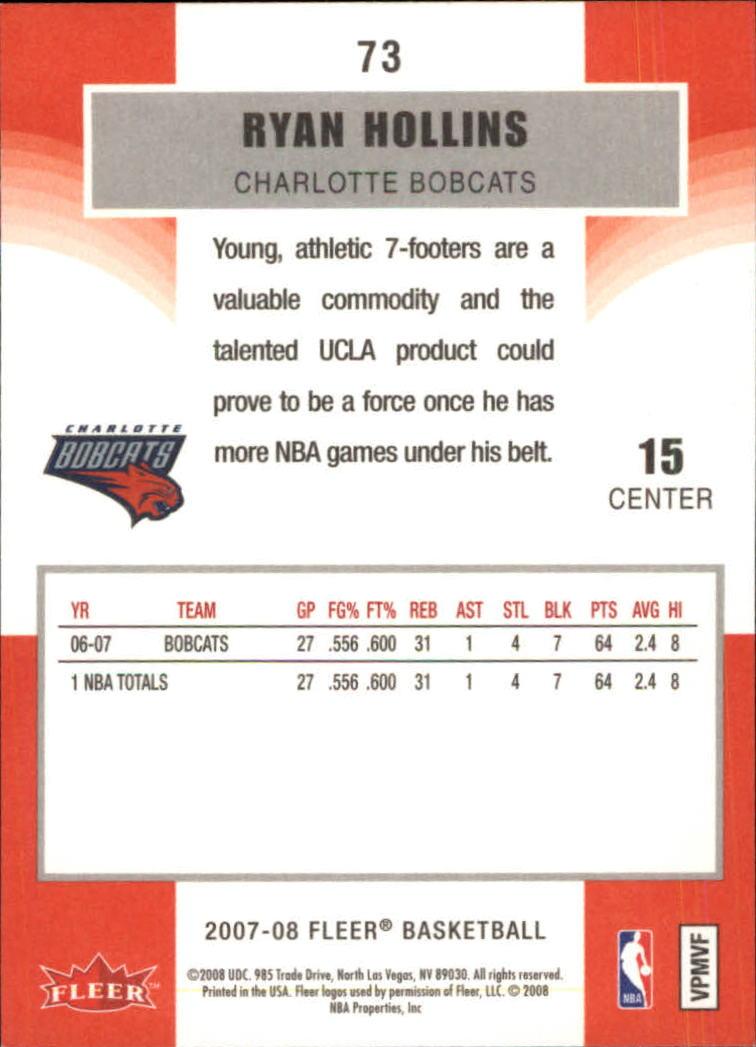 2007-08-Fleer-Basketball-Cards-Base-Set-Pick-From-List thumbnail 141