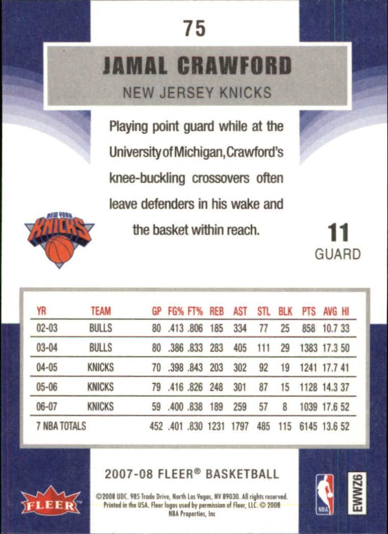 2007-08-Fleer-Basketball-Cards-Base-Set-Pick-From-List thumbnail 145