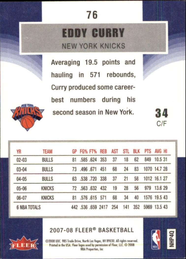 2007-08-Fleer-Basketball-Cards-Base-Set-Pick-From-List thumbnail 147
