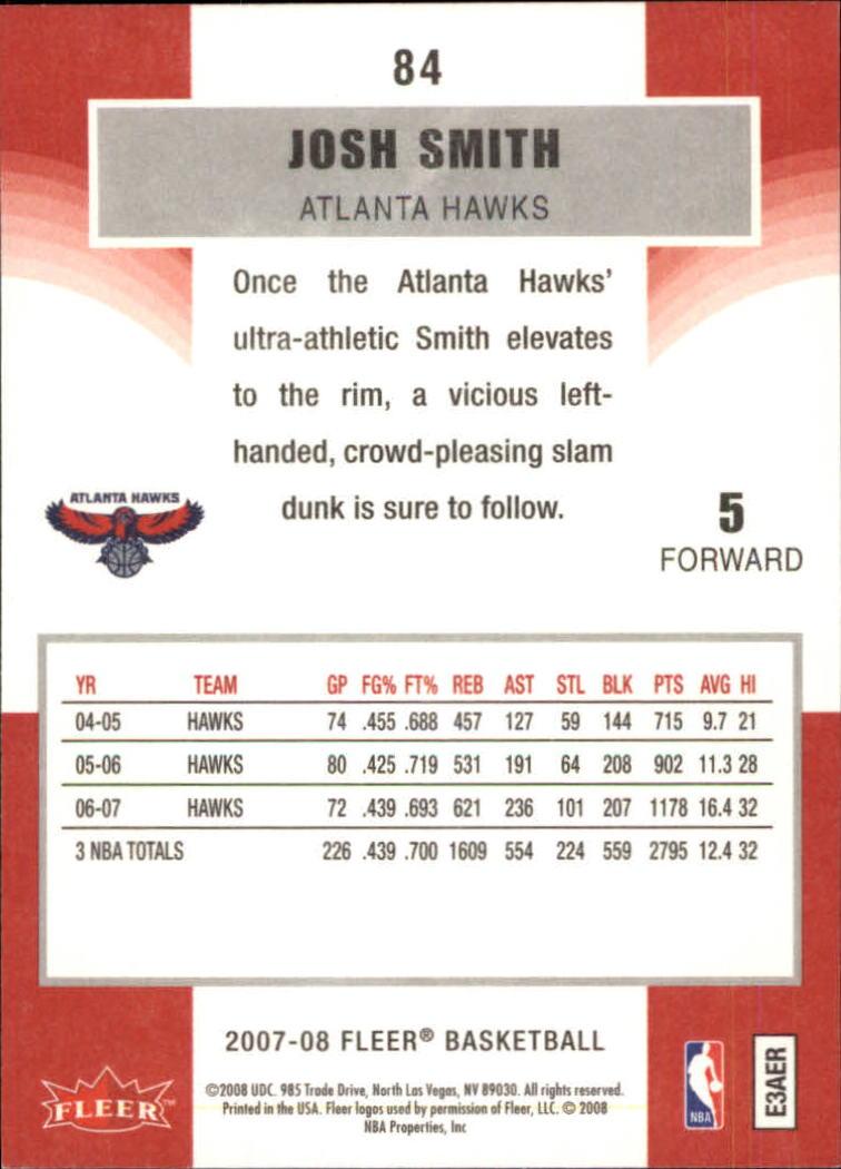 2007-08-Fleer-Basketball-Cards-Base-Set-Pick-From-List thumbnail 163