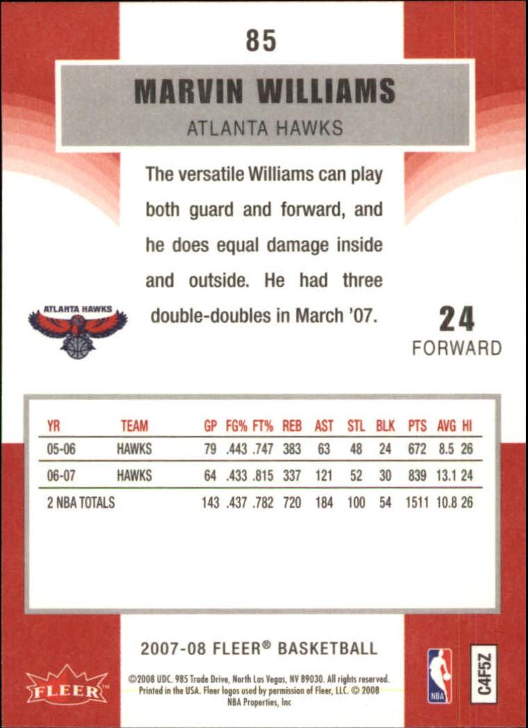 2007-08-Fleer-Basketball-Cards-Base-Set-Pick-From-List thumbnail 165