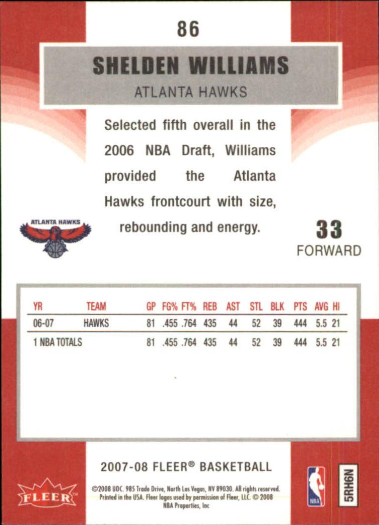 2007-08-Fleer-Basketball-Cards-Base-Set-Pick-From-List thumbnail 167