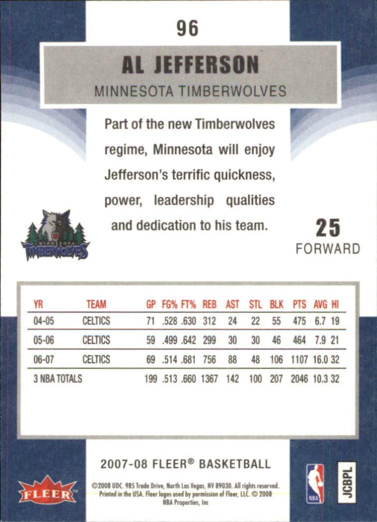 2007-08-Fleer-Basketball-Cards-Base-Set-Pick-From-List thumbnail 185