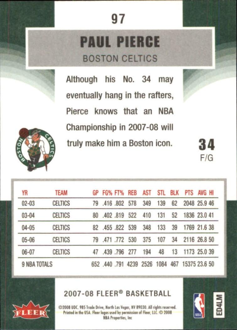 2007-08-Fleer-Basketball-Cards-Base-Set-Pick-From-List thumbnail 187
