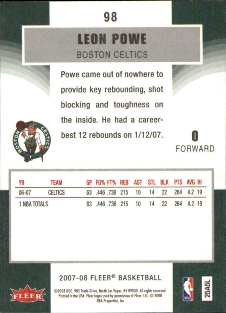 2007-08-Fleer-Basketball-Cards-Base-Set-Pick-From-List thumbnail 189