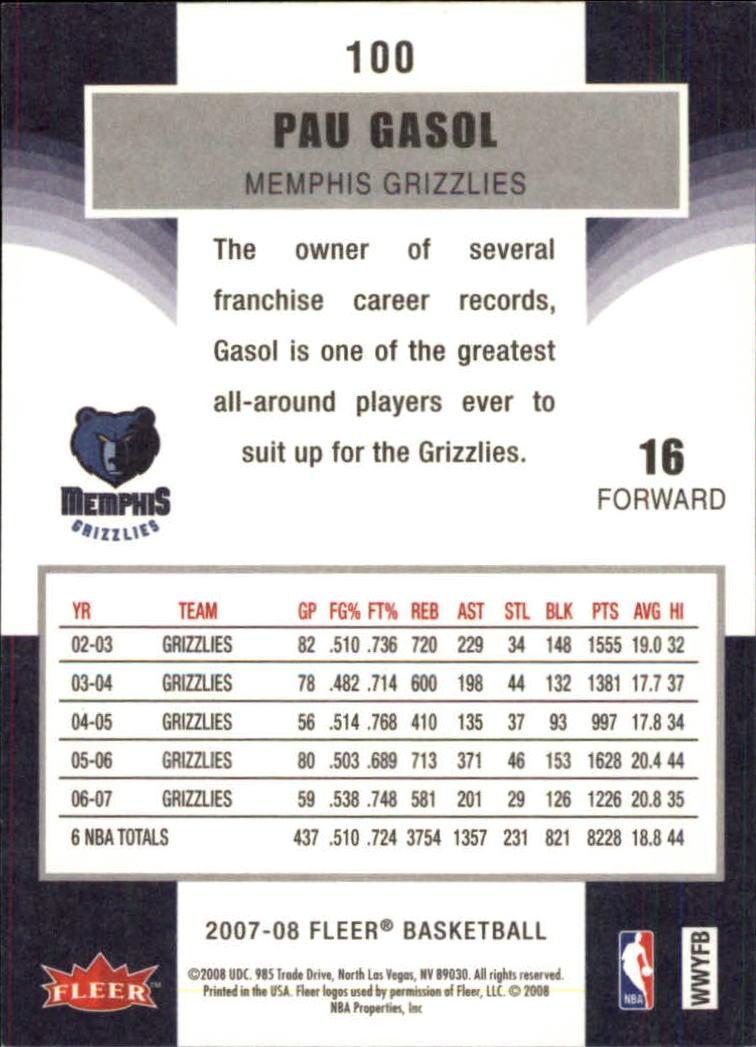 2007-08-Fleer-Basketball-Cards-Base-Set-Pick-From-List thumbnail 193