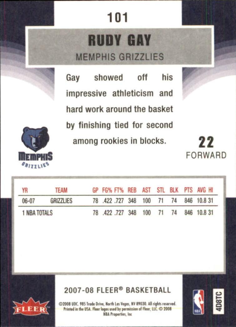 2007-08-Fleer-Basketball-Cards-Base-Set-Pick-From-List thumbnail 195