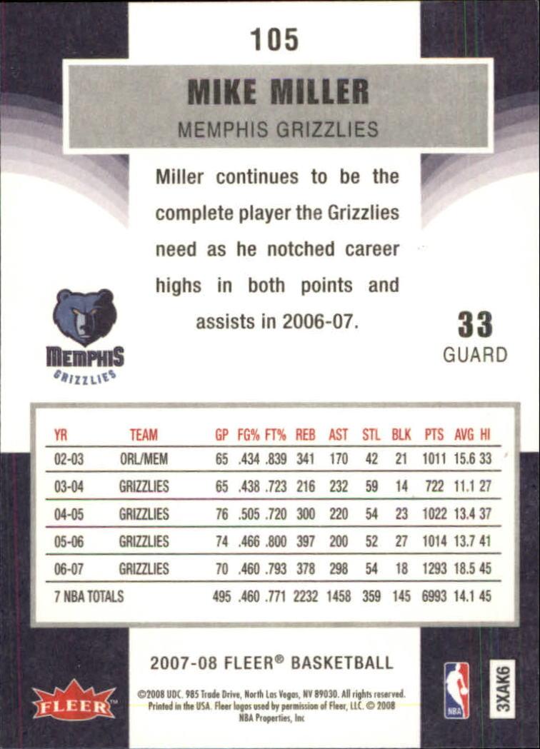 2007-08-Fleer-Basketball-Cards-Base-Set-Pick-From-List thumbnail 203