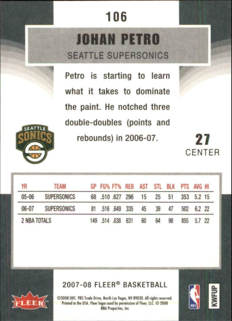 2007-08-Fleer-Basketball-Cards-Base-Set-Pick-From-List thumbnail 205
