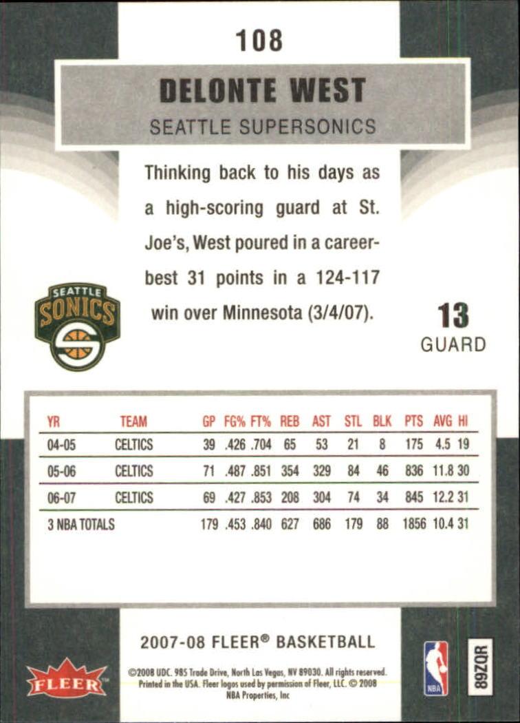 2007-08-Fleer-Basketball-Cards-Base-Set-Pick-From-List thumbnail 209