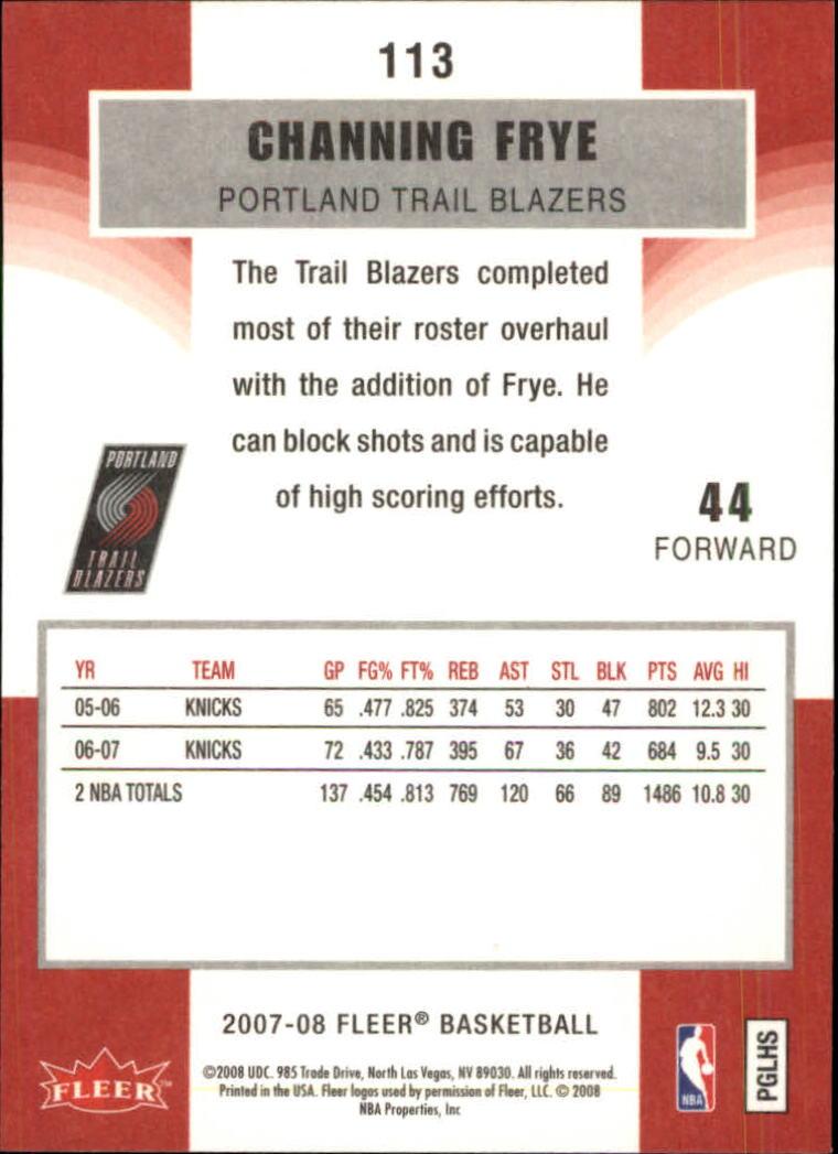 2007-08-Fleer-Basketball-Cards-Base-Set-Pick-From-List thumbnail 219