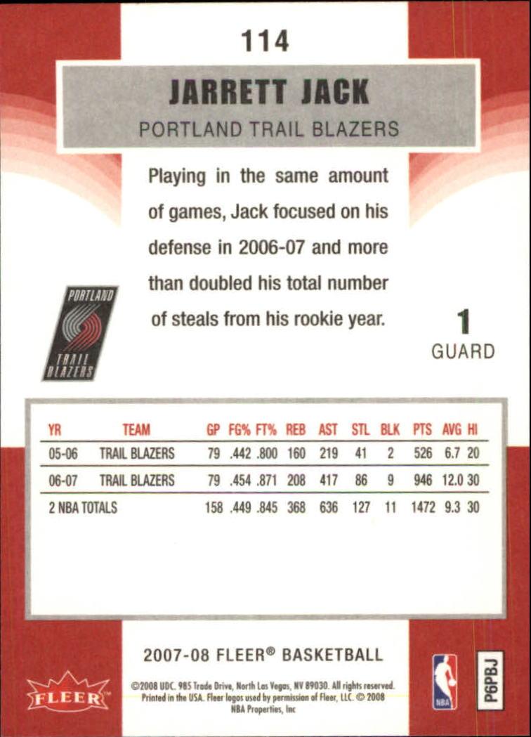 2007-08-Fleer-Basketball-Cards-Base-Set-Pick-From-List thumbnail 221