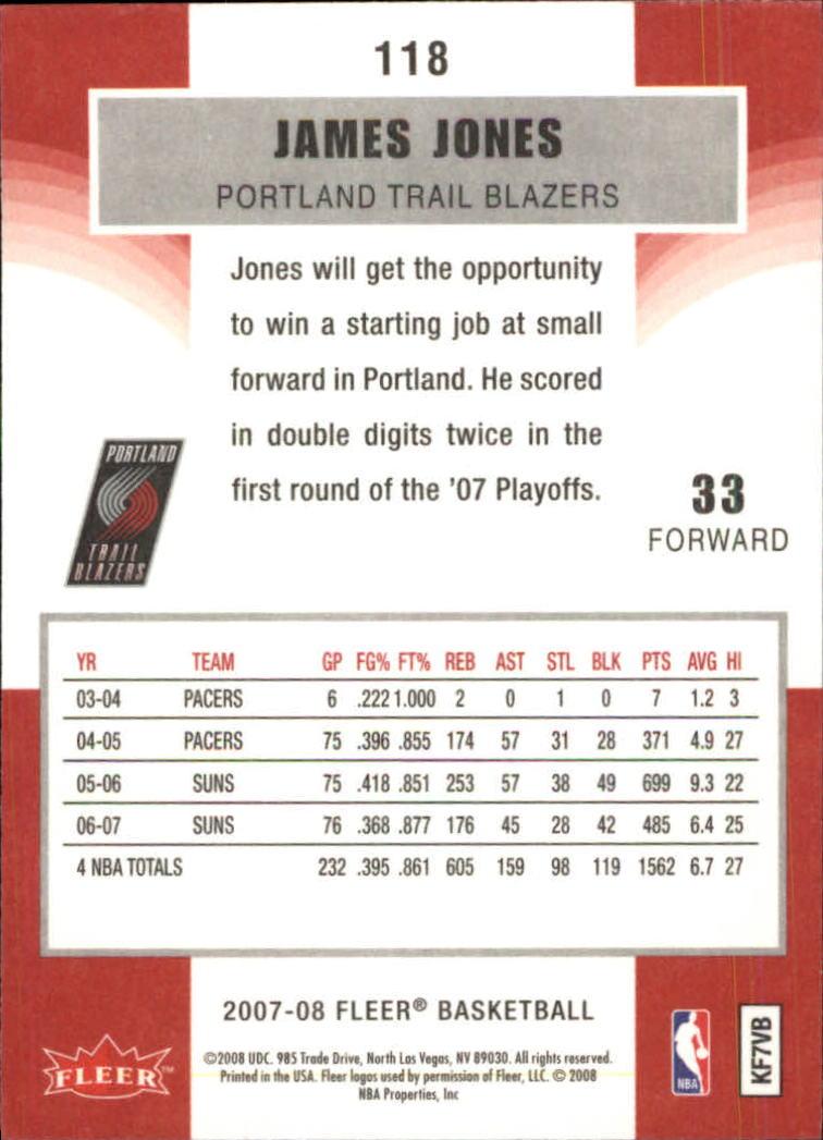 2007-08-Fleer-Basketball-Cards-Base-Set-Pick-From-List thumbnail 229