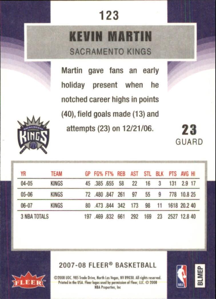 2007-08-Fleer-Basketball-Cards-Base-Set-Pick-From-List thumbnail 239