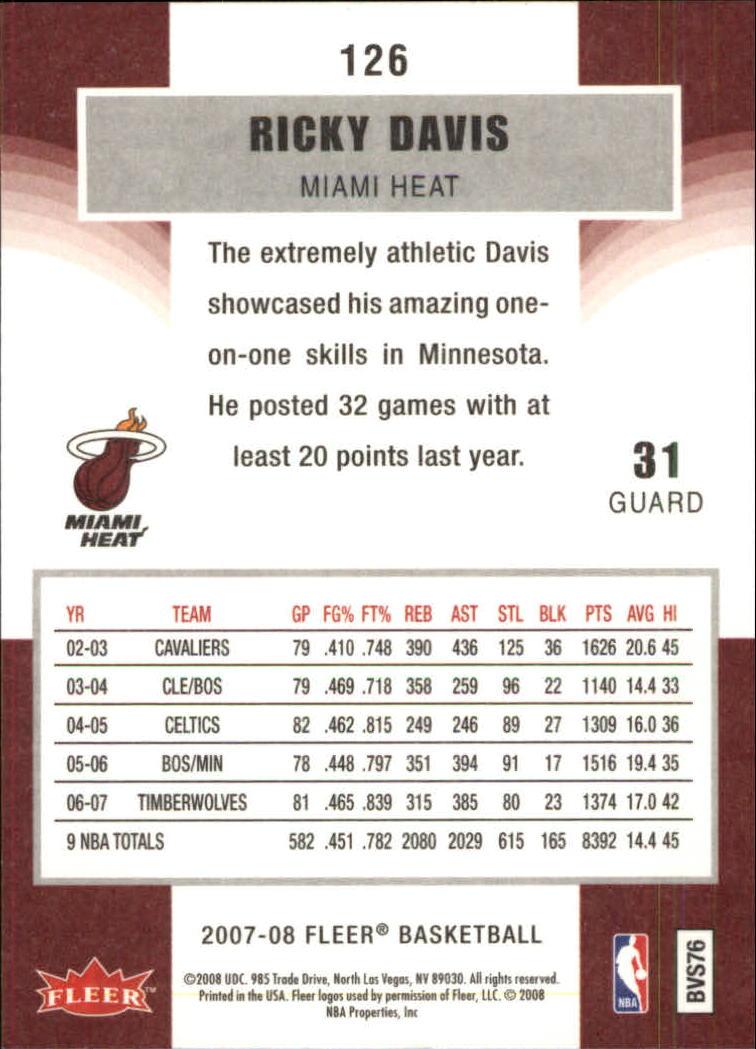 2007-08-Fleer-Basketball-Cards-Base-Set-Pick-From-List thumbnail 245