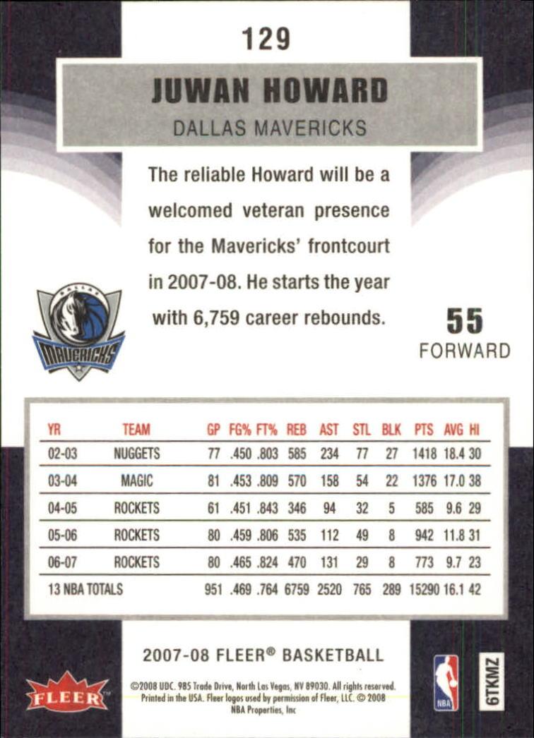 2007-08-Fleer-Basketball-Cards-Base-Set-Pick-From-List thumbnail 251