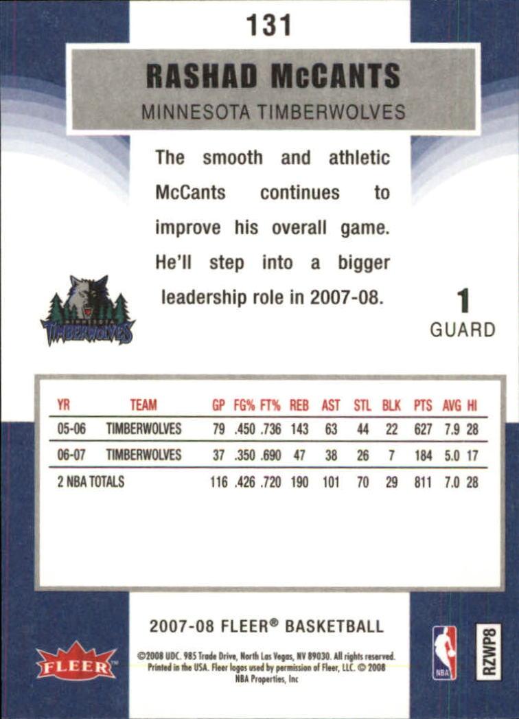 2007-08-Fleer-Basketball-Cards-Base-Set-Pick-From-List thumbnail 255