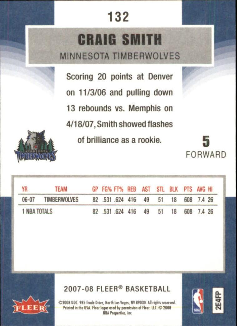 2007-08-Fleer-Basketball-Cards-Base-Set-Pick-From-List thumbnail 257