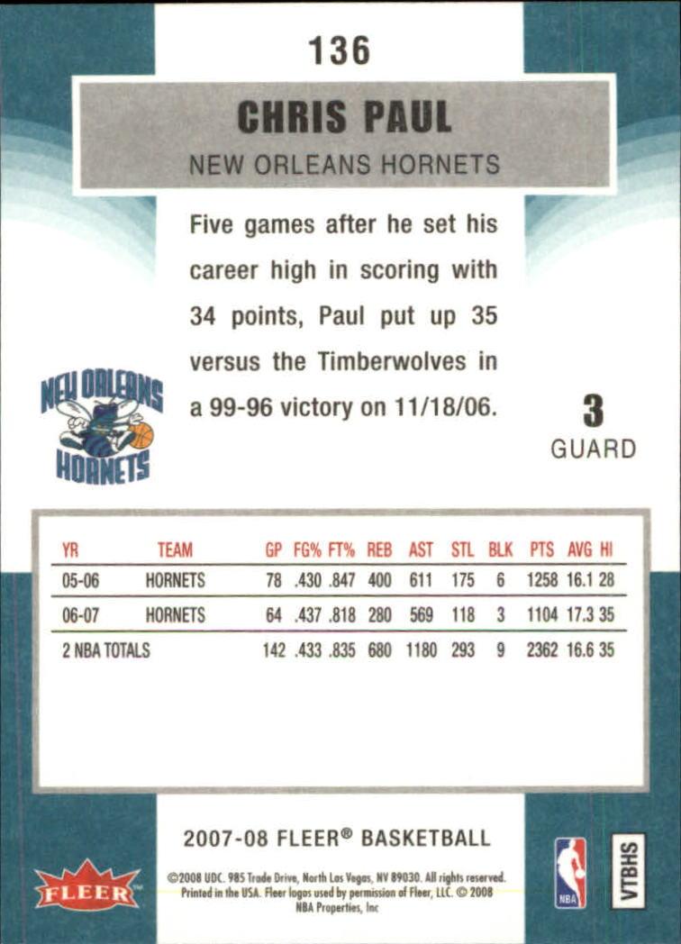 2007-08-Fleer-Basketball-Cards-Base-Set-Pick-From-List thumbnail 265